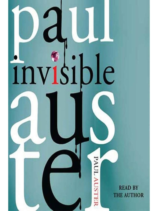 Title details for Invisible by Paul Auster - Wait list